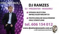 DJ Ramzes Prezenter Wodzirej na wesele, dj wodzirej Kotlin