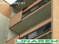 Montaż siatki ochronnej na balkon, siatki balkonowe dla kota