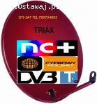 Świdnica Sobótka montaż anten satelitarnych tv tel 793734003
