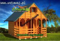 Nowy piętrowy domek 16m2 - producent ZYLAJEK