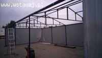 Namiot handlowy, pawilon ogrodowy, namiot magazynowy