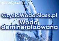 Woda demineralizowana i nie tylko, sprawdź!