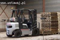 Kursy na operatorów wózków jezdniowych wraz z wymianą butli