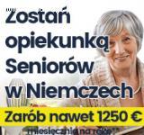 Opiekunki Niemcy - Nawet 1250 EURO Na Rękę