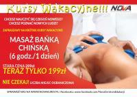 Wakacyjny kurs masażu bańką chińską