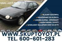 Kupię Toyotę Corolla Carina Avensis Hiace Hilux Dyna