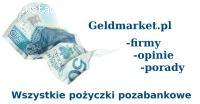 Wszystkie pożyczki pozbankowe w 1 miejscu geldmarket
