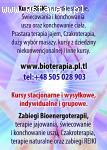 Kursy masażu Biomasażu Reiki Terapii naturalnych Chirurgii F