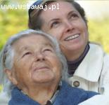 81- letnia seniorka potrzebuje wsparcia opiekunki