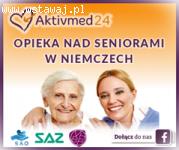 Opiekunowie seniorów Niemcy - Codziennnie nowe zlecenia