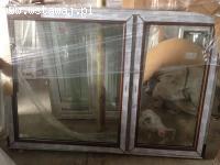 Sprzedam okna PCV 206,5/114 dws. orzech 3 szyby NISKA CENA