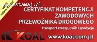 Licencja transportowa kurs w Katowicach