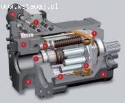 Pompa Linde HPR 105, B2PV50, Hydraulika siłowa