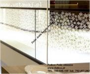Folie gradientowe do dekoracji szyb Mgła152, Perła 152, Biał