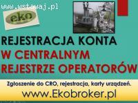 CRO, rejestracja, tel. 502-032-782, fgazy, klimatyzacja