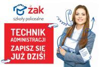 Technik Administracji ZA DARMO w Legnicy!