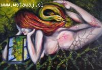 Sprzedam dwa obrazy olejne – Surrealizm