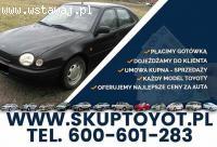 Kupie Toyotę Corollę e10 e11 Carine Hiace Hilux Skup Toyot