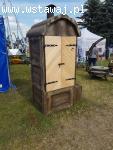 Wędzarnia betonowa Zefir o imitacji drewna