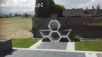 Grill betonowy TANATOS   Niepowtarzalny wygląd !