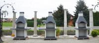 Grill betonowy K1  Różne warianty blatu