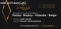 Przewozy PrestigeBUS Polska - Niemcy - Holandia - Belgia