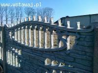 ogrodzenie płot betonowe kalisz konin pleszew ostrów wlkp /