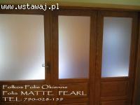 Folie matowe Warszawa -Na okna sklepowe, witryny, ścianki