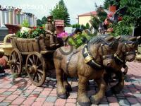 Zaprzęg konny, koń, wóz, woźnica