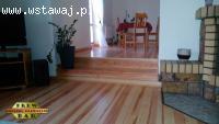 Układanie deski podłogowej na legarach drew-dar