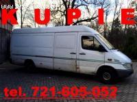 Kupie Mercedes Sprinter KAŻDY STAN 212 313 2,3 2,9