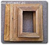 Ramy/ramki ze starego drewna