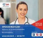 Opiekun Medyczny – Legionowo!