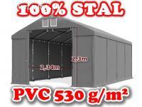 5x8x2,5m Namiot MAGAZYNOWY przemysłowy HANDLOWY całoroczny f