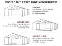 6x10m namiot magazynowy przemysłowy handlowy garażowy 60 m 2
