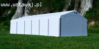 6x12m NAMIOT przemysłowy magazynowy hala namiotowa garażowy