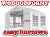4x4m Namiot TARGOWY weselny OGRODOWY pawilon FESTYNOWY impre