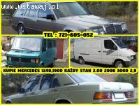 Kupie Mercedes 124d,190d Każdy Stan 2.0D
