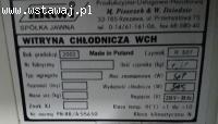 Witryna chłodnicza 48/17/1b