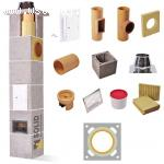 Komin Ceramiczny SOLID Premium Fi 160 4m Do Wszystkich Paliw