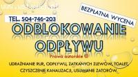 Przepychanie toalet, cena, tel. 504-746-203, Wrocław