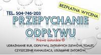 Czyszczenie rur spiralą, tel, 504-746-203, Wrocław
