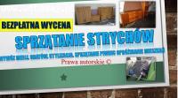 Sprzątanie piwnic Wrocław, cennik tel. 504-746-203. Wywóz