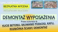 Zerwanie parkietu, podłogi, cena tel. 504-746-203. Wrocław