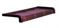 Parapet aluminiowy PŁYTKA SOFT LINE gr. 150 mm