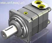 Silnik Sauer Danfoss OMV630 151B-3118; OMH250 151H-1003; OMR