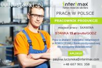 DRUKARNIA: Pracownik Produkcji - Pełny etat - Stała Praca