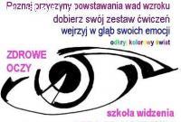 "KURS ""KOREKCJA WAD WZROKU - METODA BATESA"""