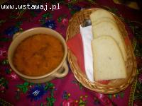 Obiad dnia w Karczmie Czarci Max w Moskorzewie