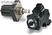 Silnik hydrauliczny Rexroth A6VM140, A6VM200, A6VE107